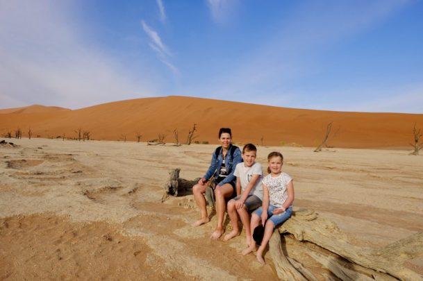 Namibië met Kinderen