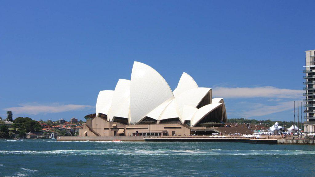 Australië met Kinderen Sydney Opera House