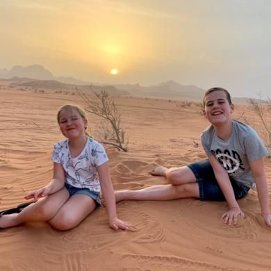 Ontdek de woestijn van Jordanië